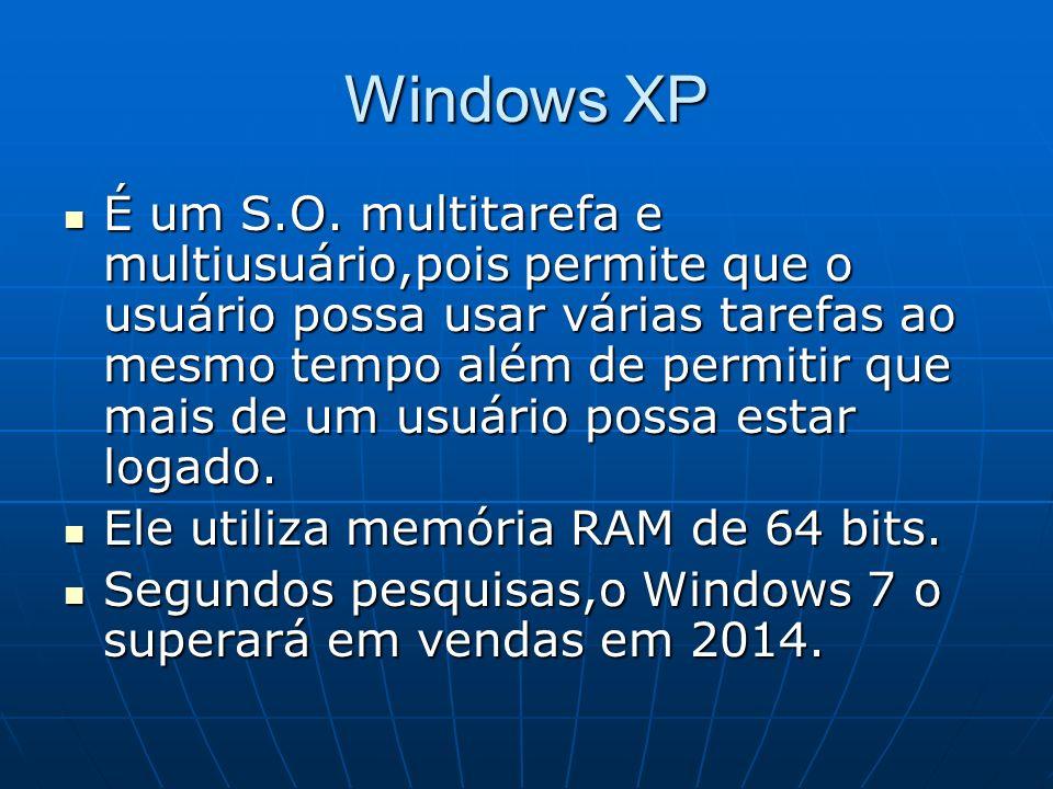 "História do Windows XP Significa Windows ""eXperience""  - ppt"