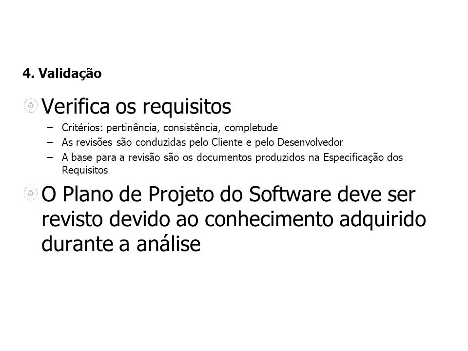 Verifica os requisitos