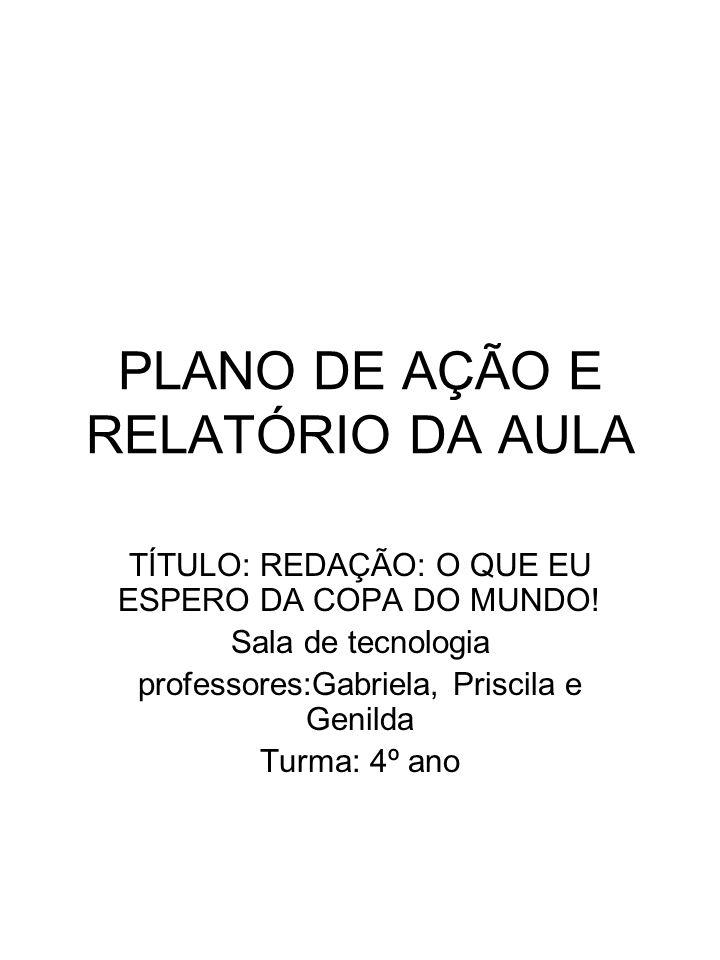 Metodologia relatorio