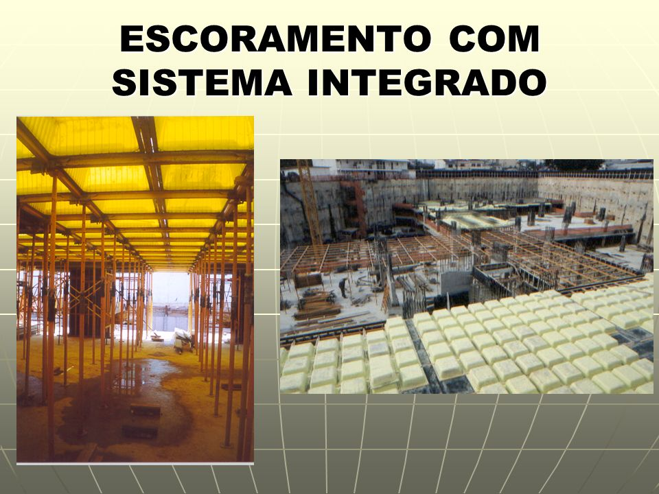 ESCORAMENTO COM SISTEMA INTEGRADO