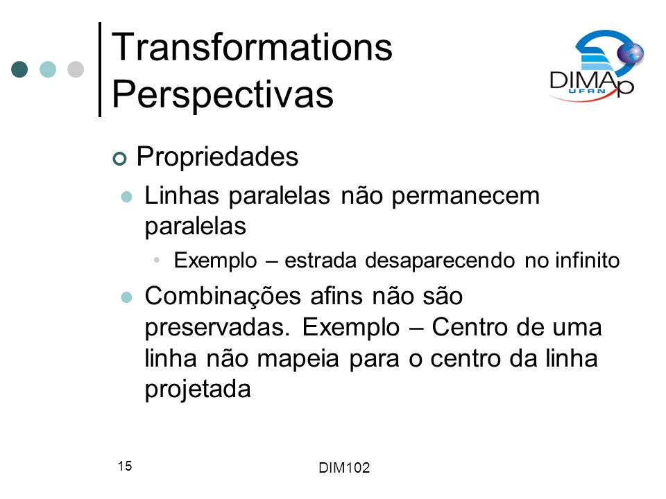 Transformations Perspectivas