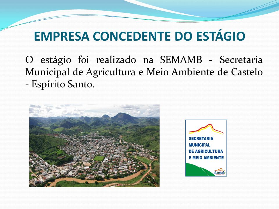 EMPRESA CONCEDENTE DO ESTÁGIO