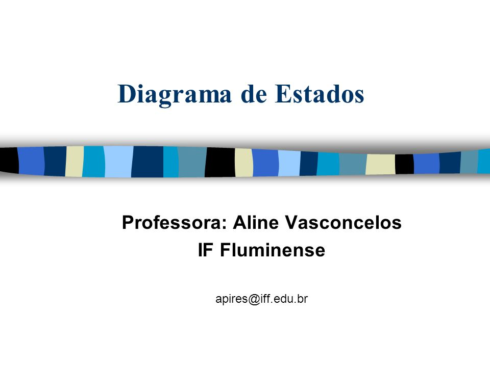 Professora: Aline Vasconcelos IF Fluminense