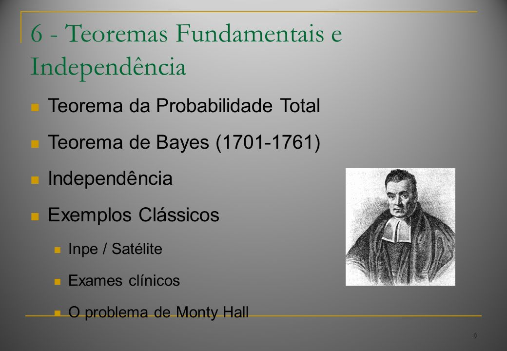 6 - Teoremas Fundamentais e Independência