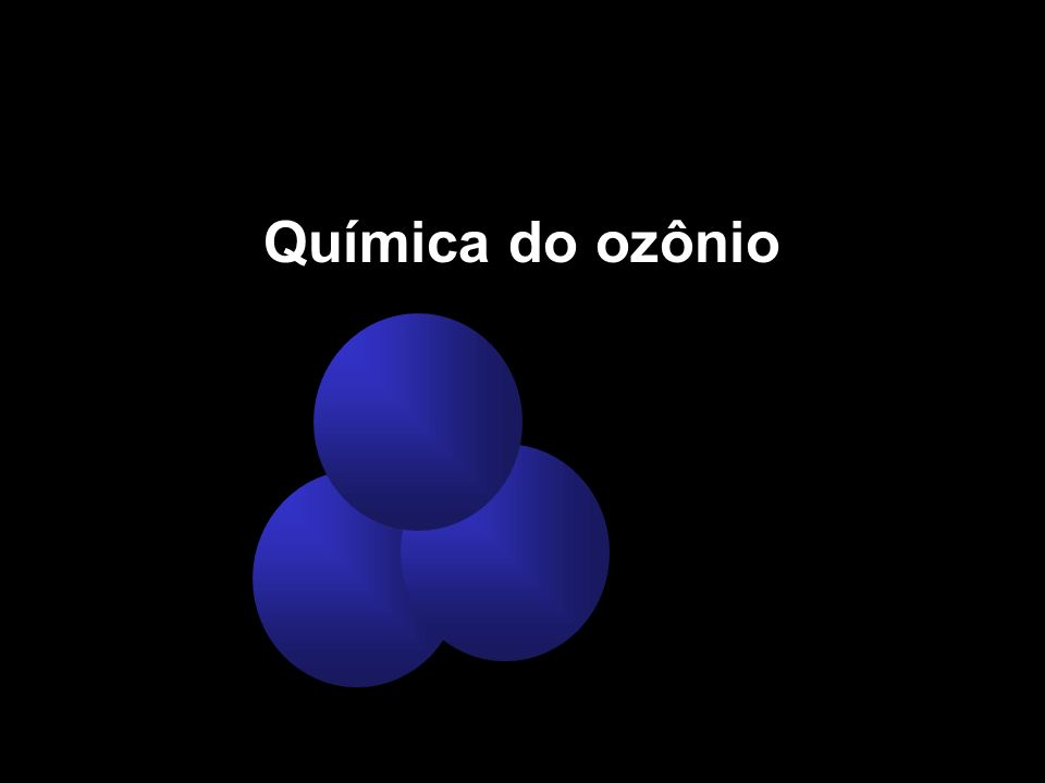 Química do ozônio