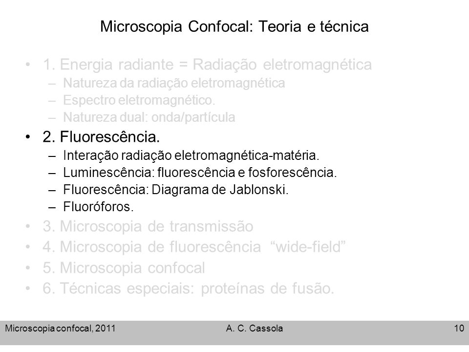 Microscopia confocal teoria e tcnica ppt video online carregar 10 microscopia ccuart Image collections