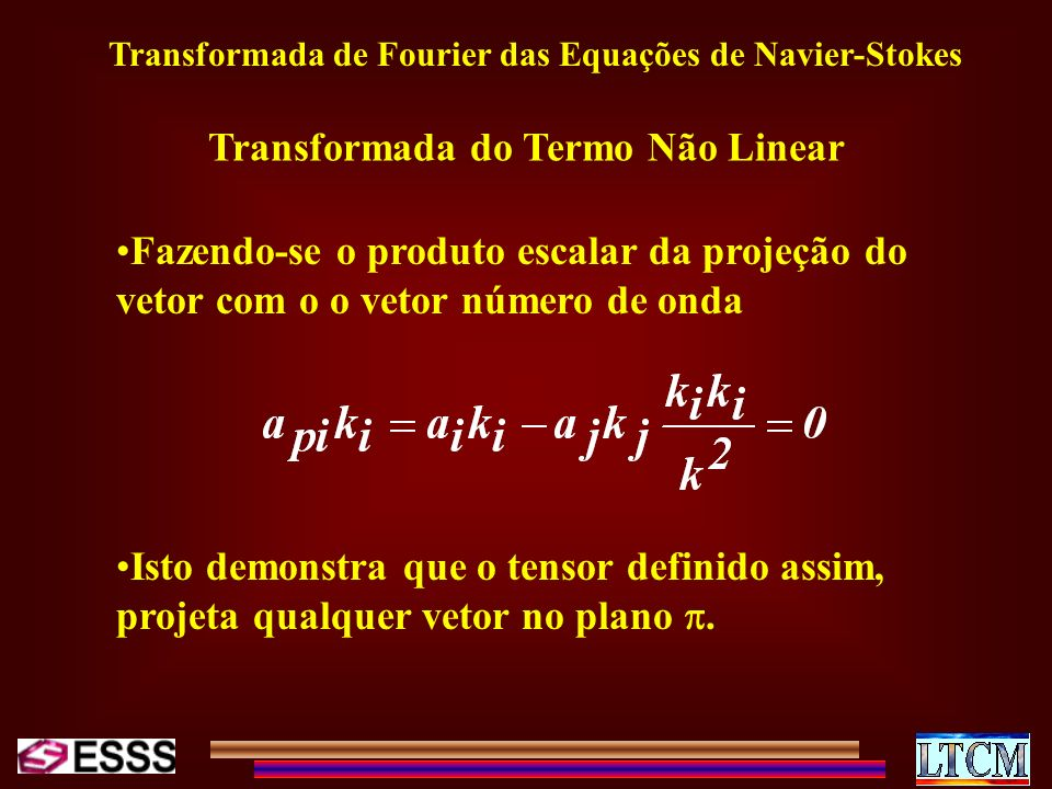 Transformada do Termo Não Linear