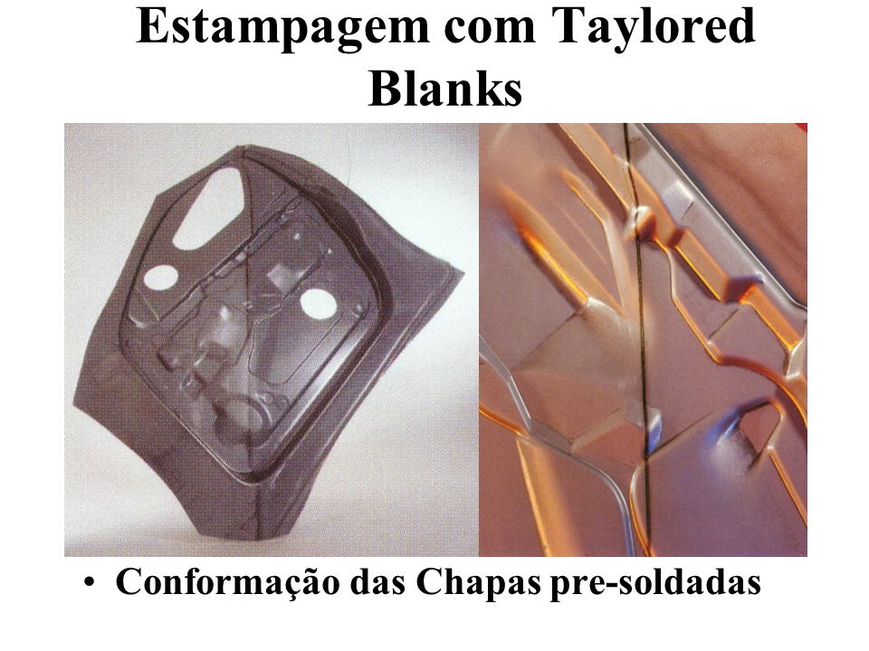 Estampagem com Taylored Blanks