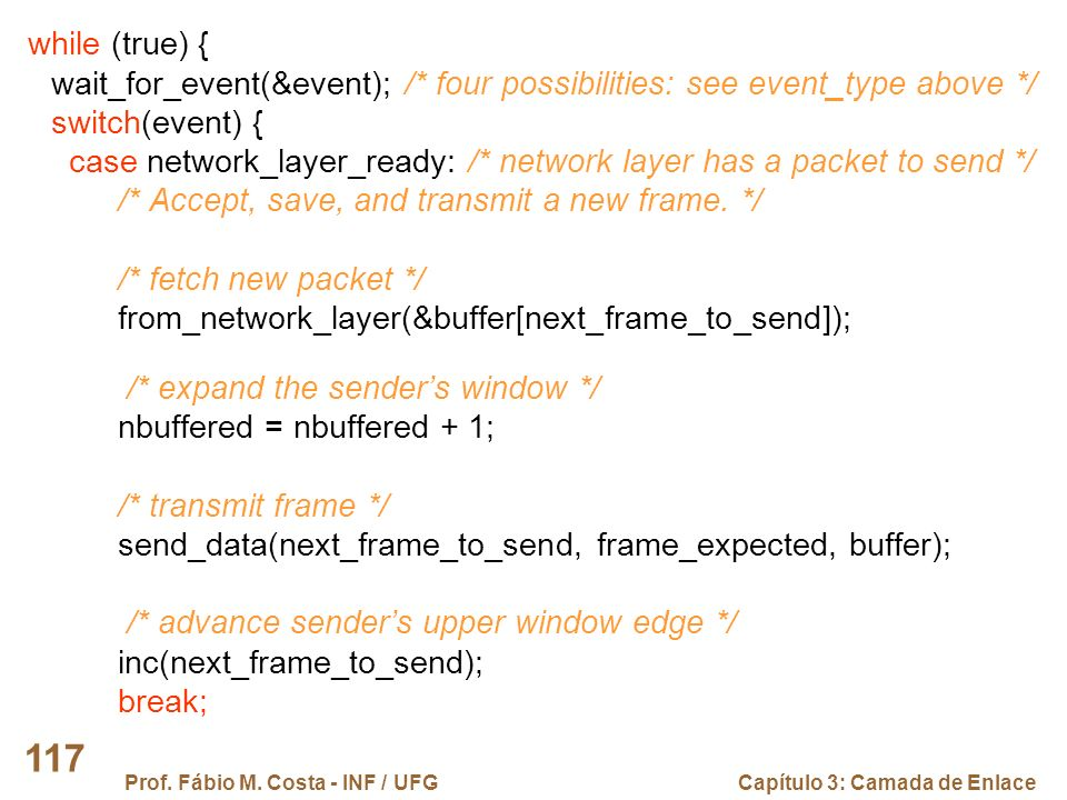 wait_for_event(&event); /* four possibilities: see event_type above */