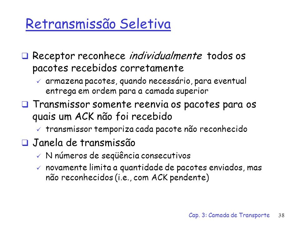 Retransmissão Seletiva