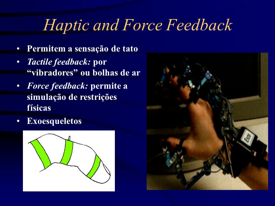 Haptic and Force Feedback