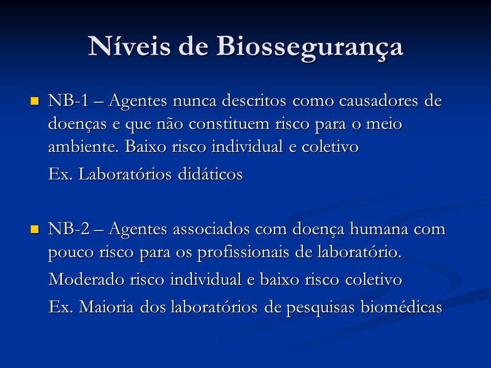 1f4400c4b5bf1 Níveis de biossegurança - ppt video online carregar