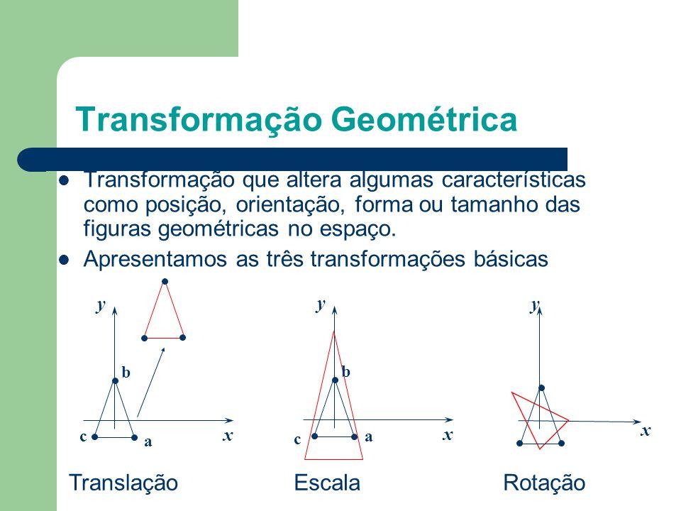 Computação Gráfica – Transformações Geométricas - ppt carregar