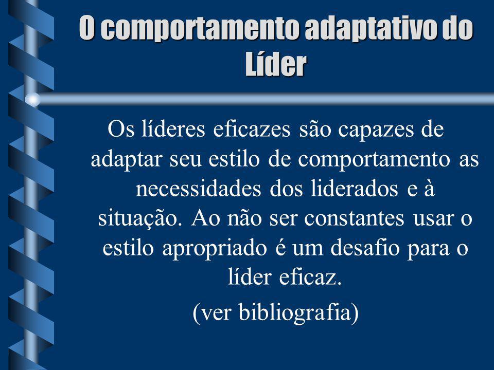 O comportamento adaptativo do Líder