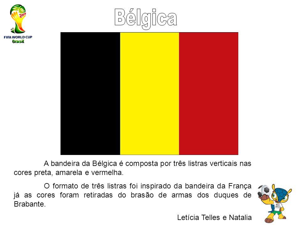 50599698e1 Bélgica A bandeira da Bélgica é composta por três listras verticais nas  cores preta