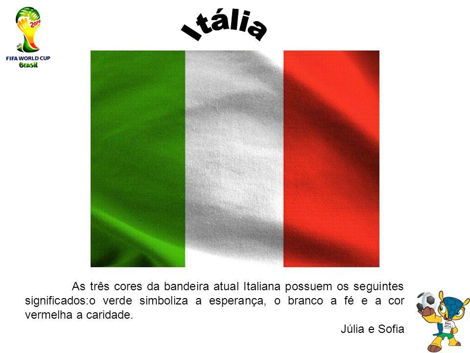 13 Itália As três cores da bandeira atual Italiana possuem os seguintes  significados o ... d3721a9a38418