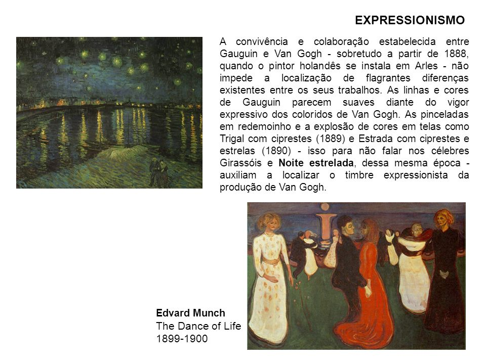 EXPRESSIONISMO The Dance of Life