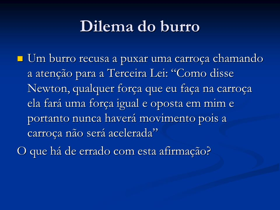 Dilema do burro