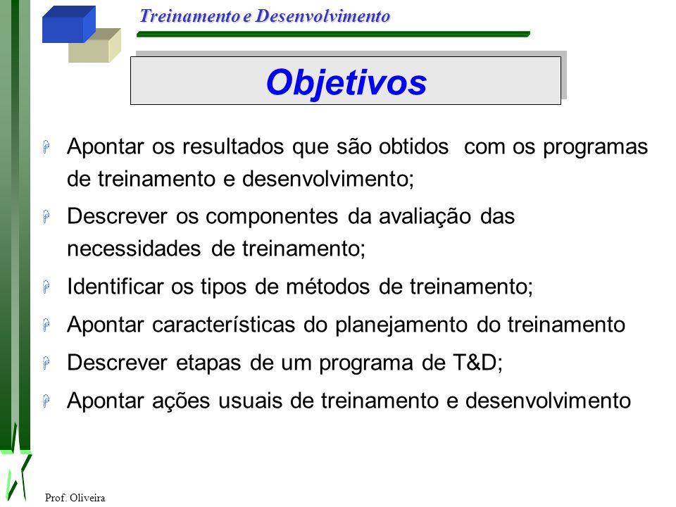 Treinamento E Desenvolvimento De Pessoas Na Organizacção