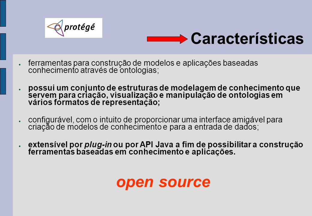 Características open source