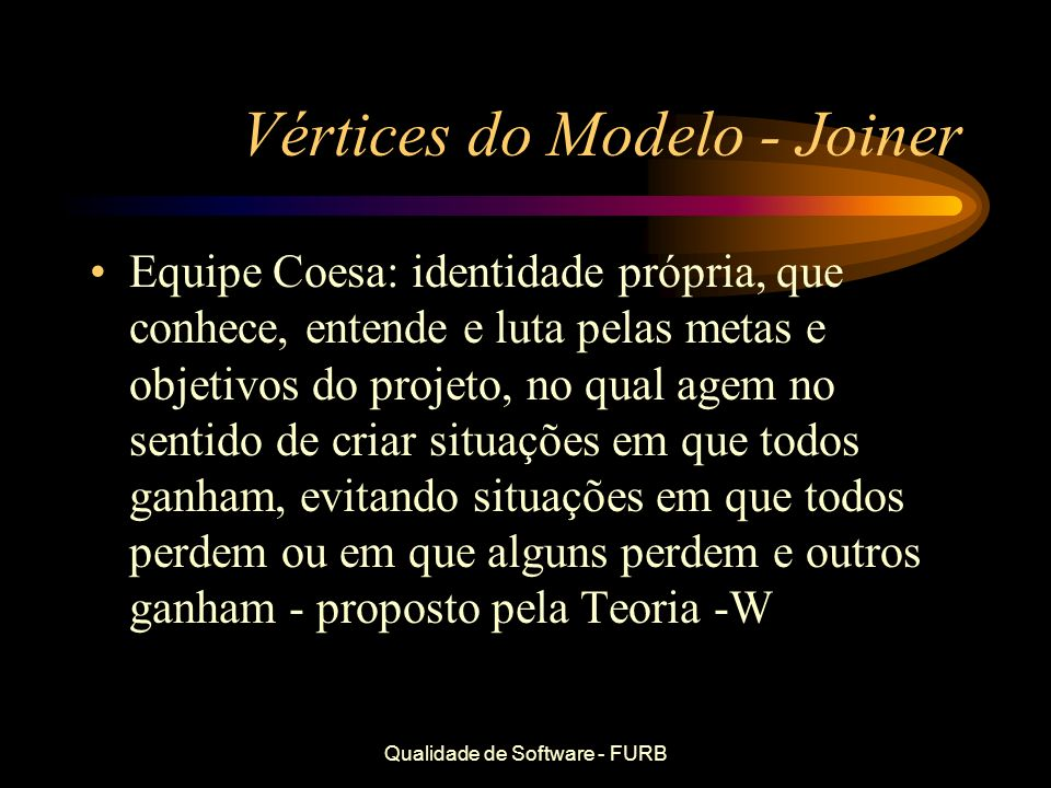 Vértices do Modelo - Joiner