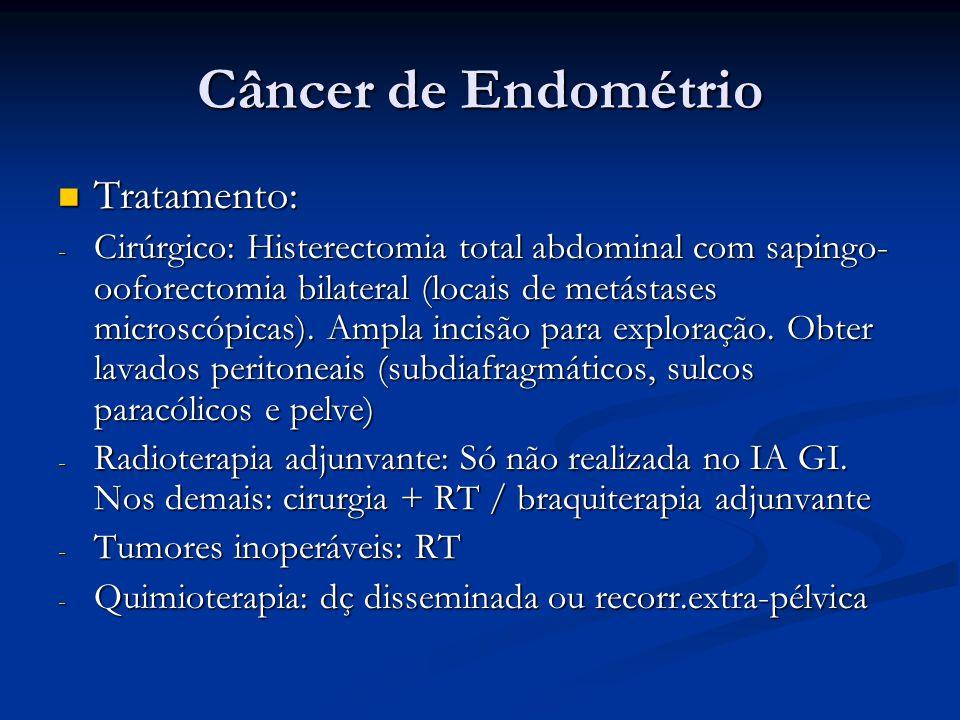Cancer endometrial tratamento. Cancer endometrial tratamento, Cancer endometrial tratamento -