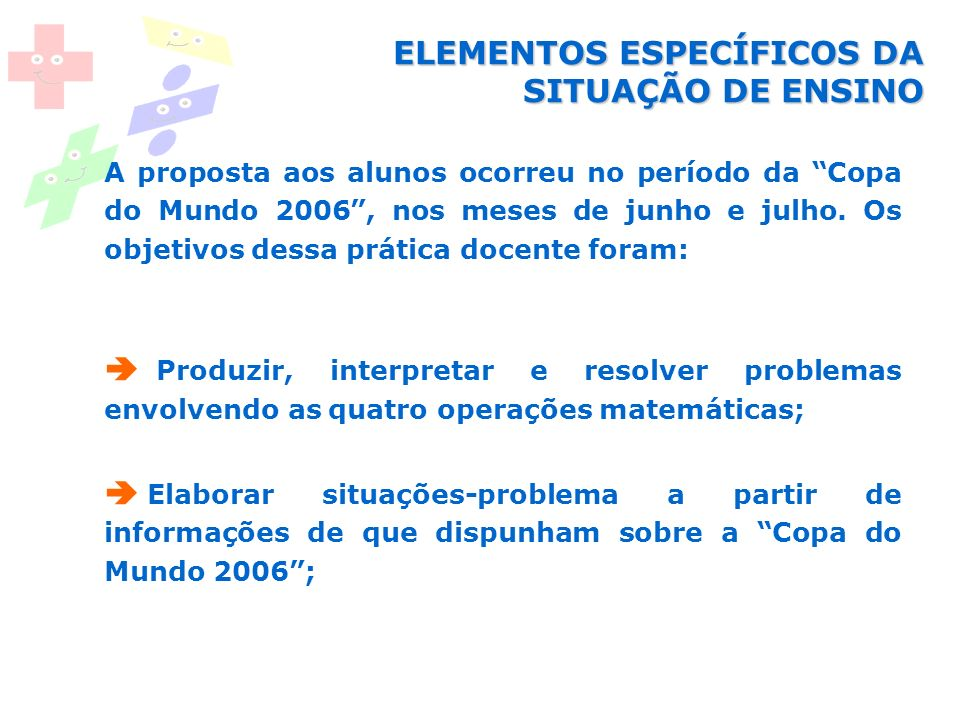 Livro De Situacoes Problema As Quatro Operacoes Matematicas Ppt Carregar
