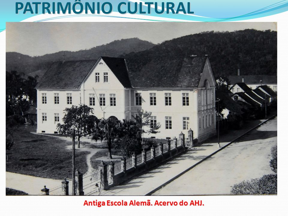 Antiga Escola Alemã. Acervo do AHJ.