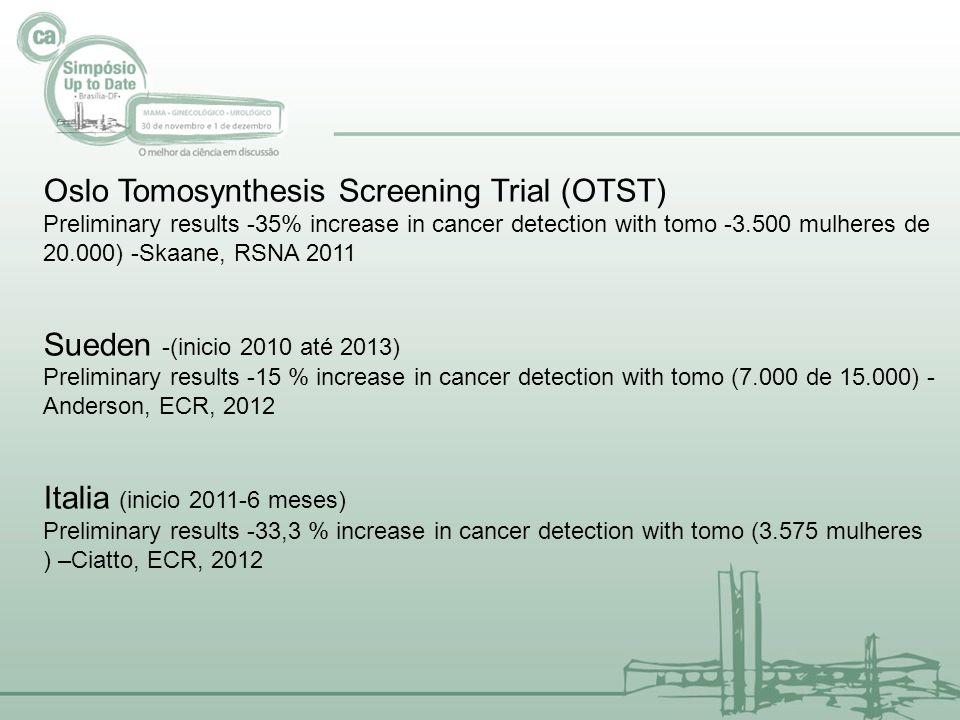 Oslo Tomosynthesis Screening Trial (OTST)