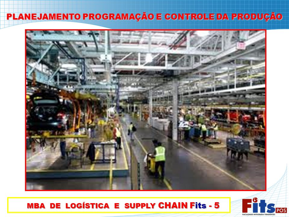 MBA DE LOGÍSTICA E SUPPLY CHAIN Fits - 5