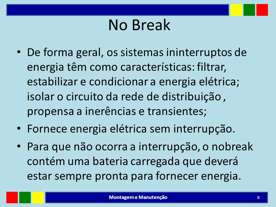 No Break