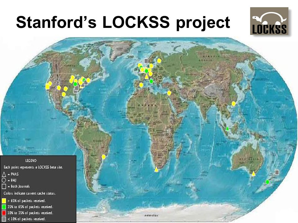 Stanford's LOCKSS project