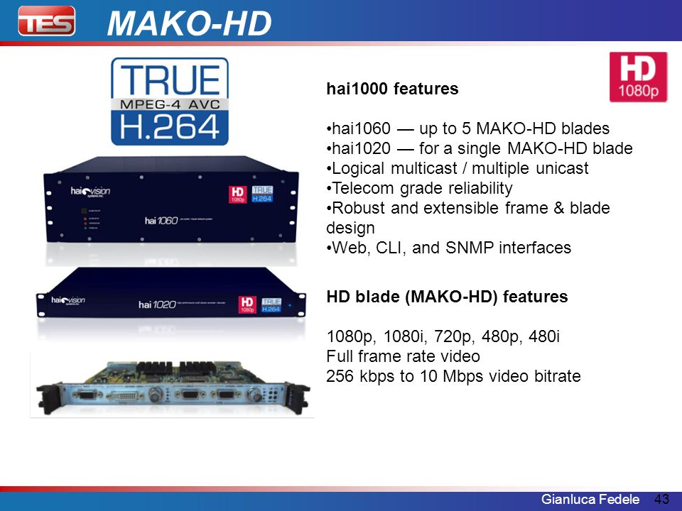 MAKO-HD hai1000 features hai1060 — up to 5 MAKO-HD blades