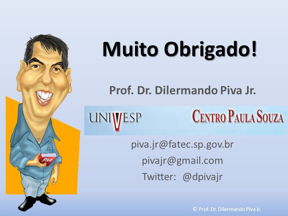 Prof. Dr. Dilermando Piva Jr.