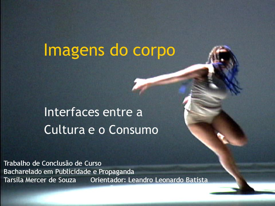 Interfaces entre a Cultura e o Consumo