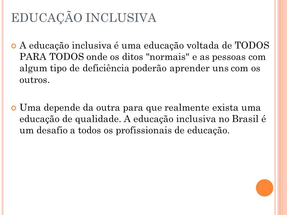 O que é educação inclusiva e educação especial