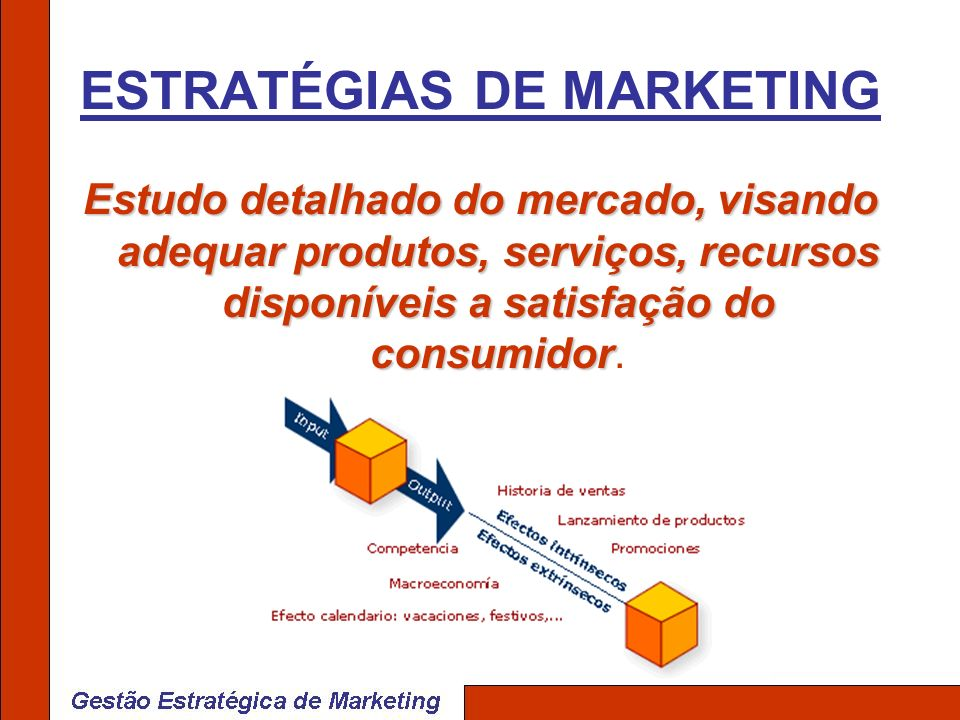 ESTRATÉGIAS DE MARKETING