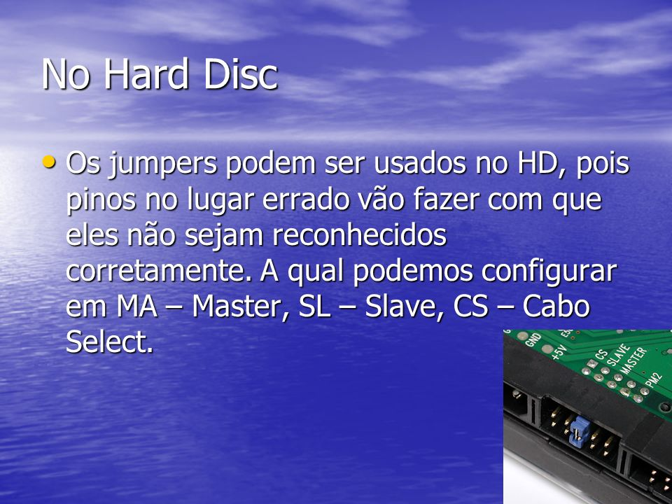 No Hard Disc