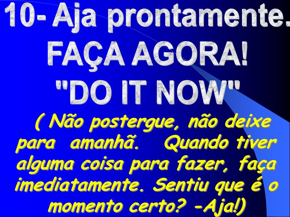 best O Que Significa A Palavra Do It Now image collection 7ad4b8034f