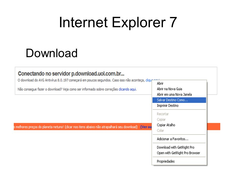 Internet Explorer 7 Download