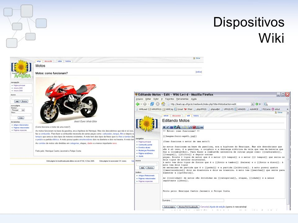 Dispositivos Wiki