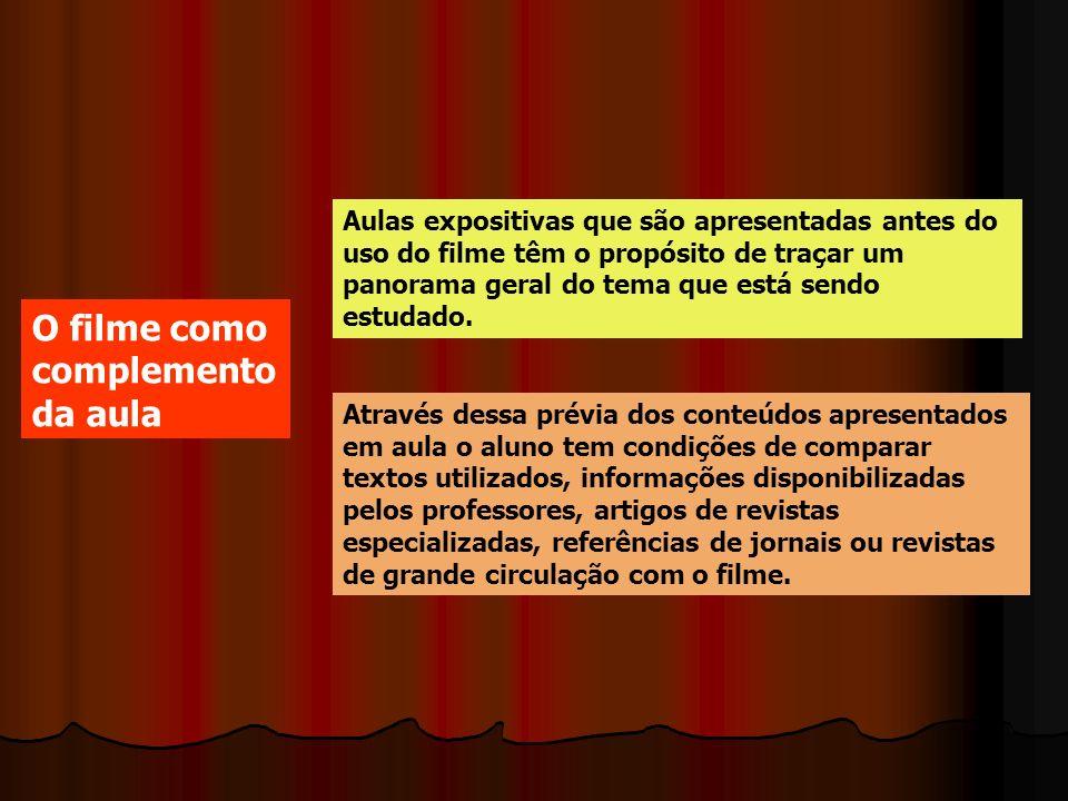 49e0714d45 O CINEMA EM SALA DE AULA Arnaldo Lemos Filho. - ppt carregar