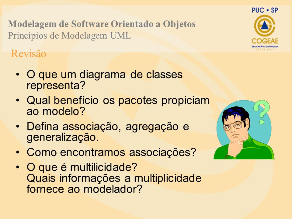 O que um diagrama de classes representa