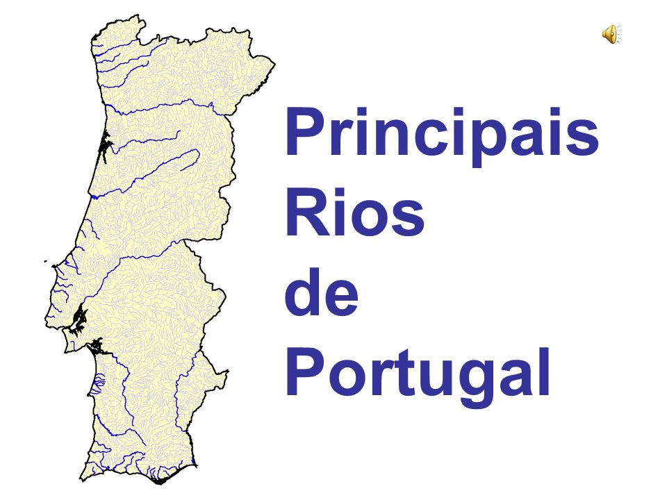 rios de portugal mapa Principais Rios de Portugal   ppt video online carregar rios de portugal mapa