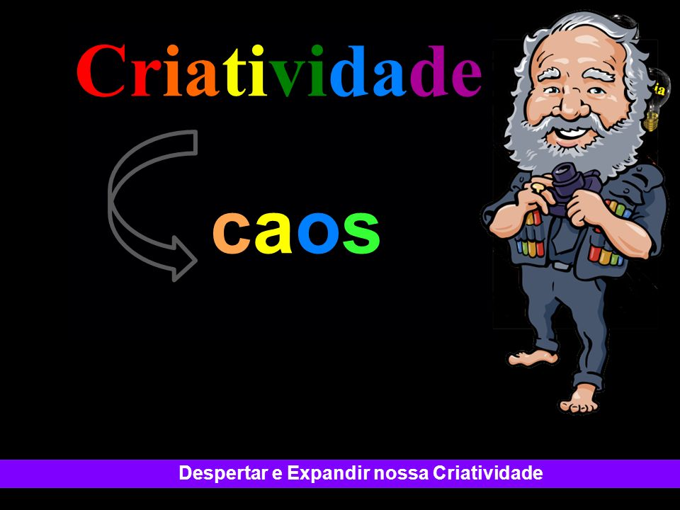 Criatividade . Difference Change caos SUCCESS!!!