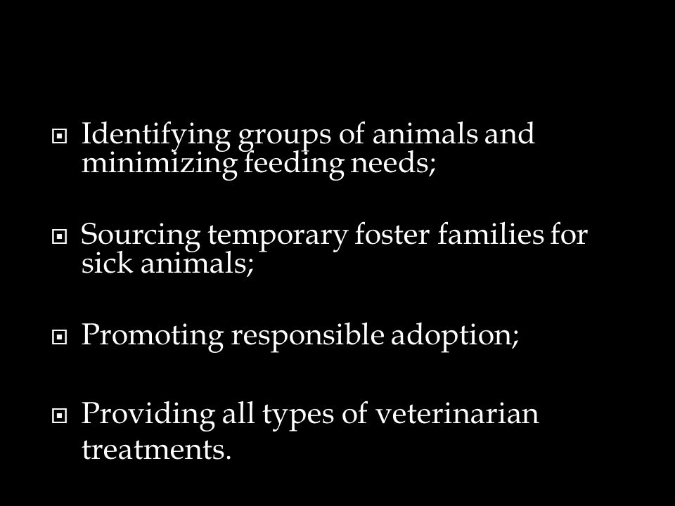 Identifying groups of animals and minimizing feeding needs;