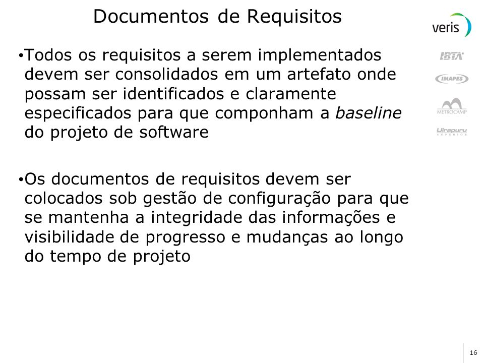 Documentos de Requisitos