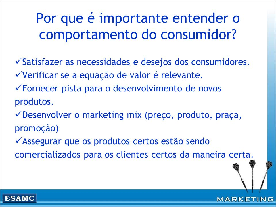 Por que é importante entender o comportamento do consumidor