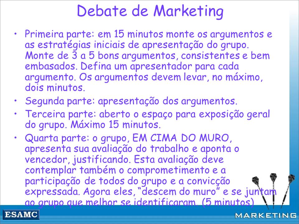 Debate de Marketing
