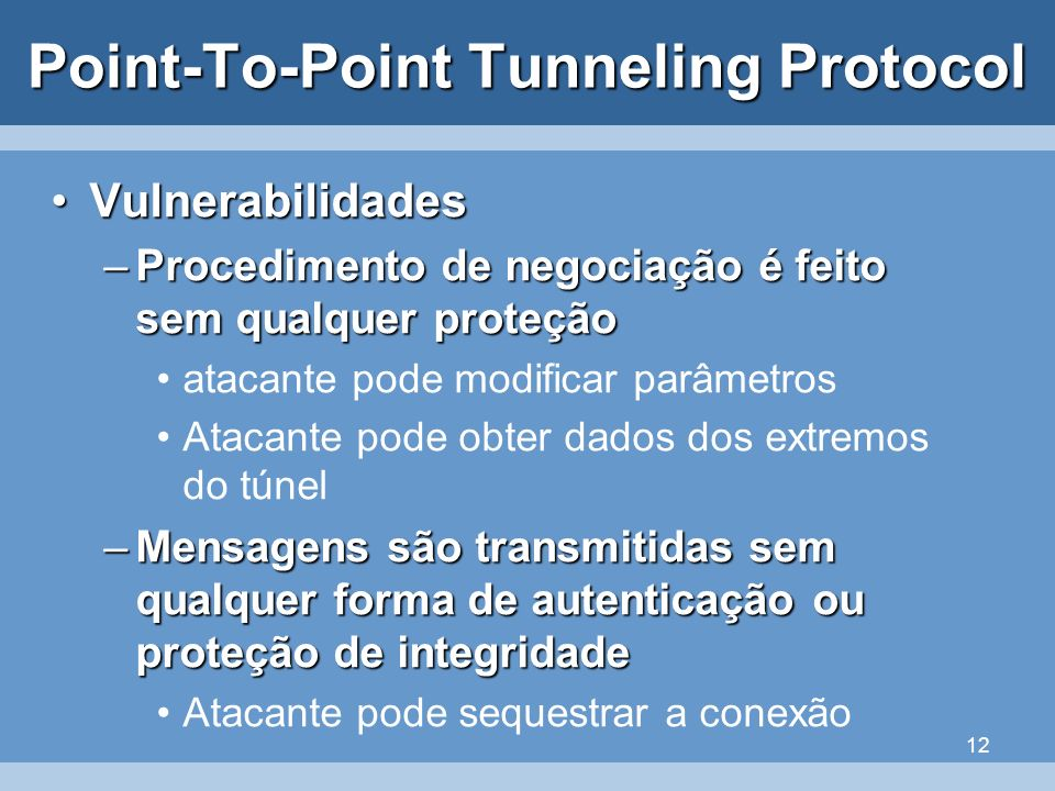 Point-To-Point Tunneling Protocol